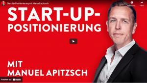 Startup-Positionierung